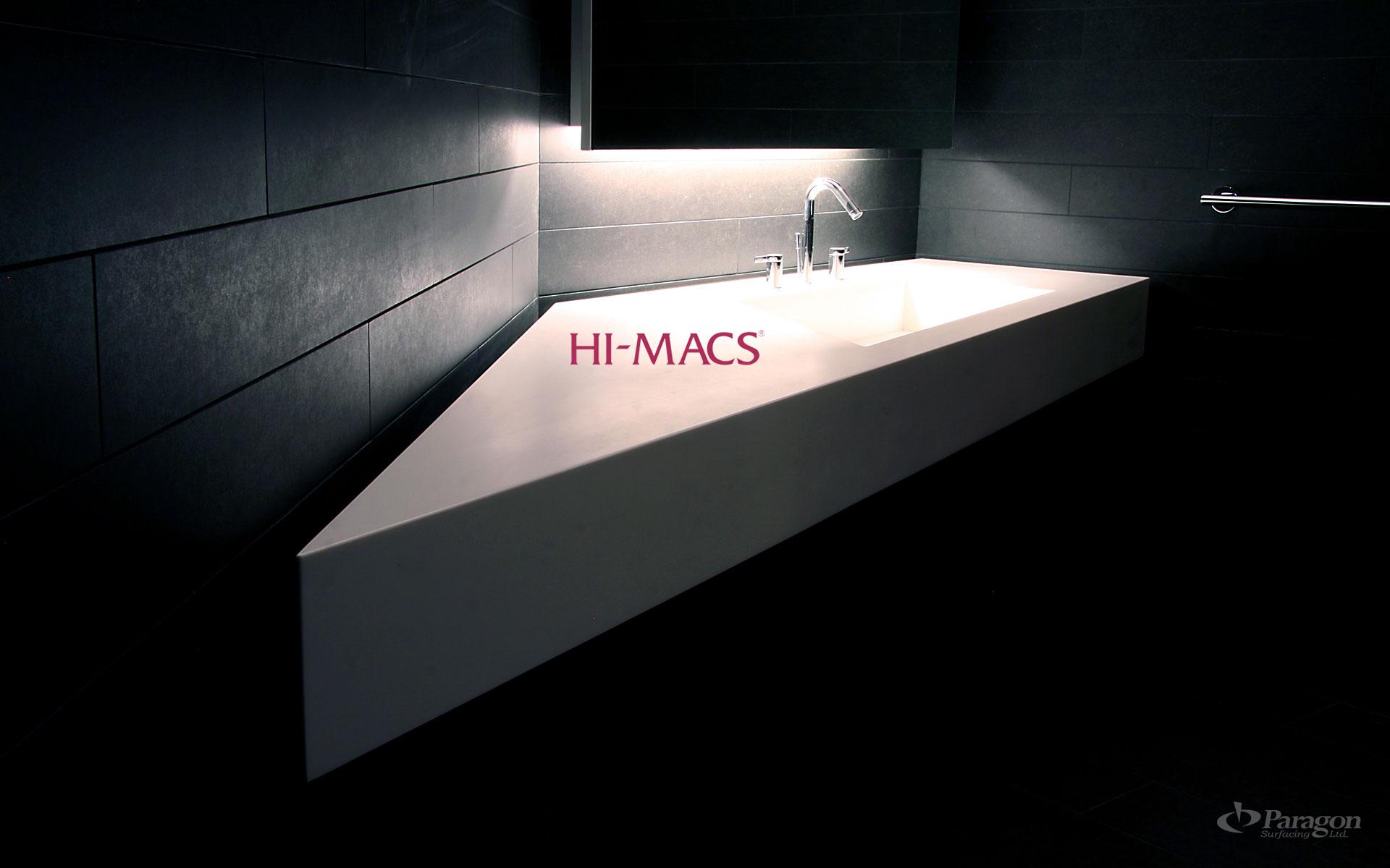 Hi Macs Countertops Kelowna Paragon Surfacing Interior Bc